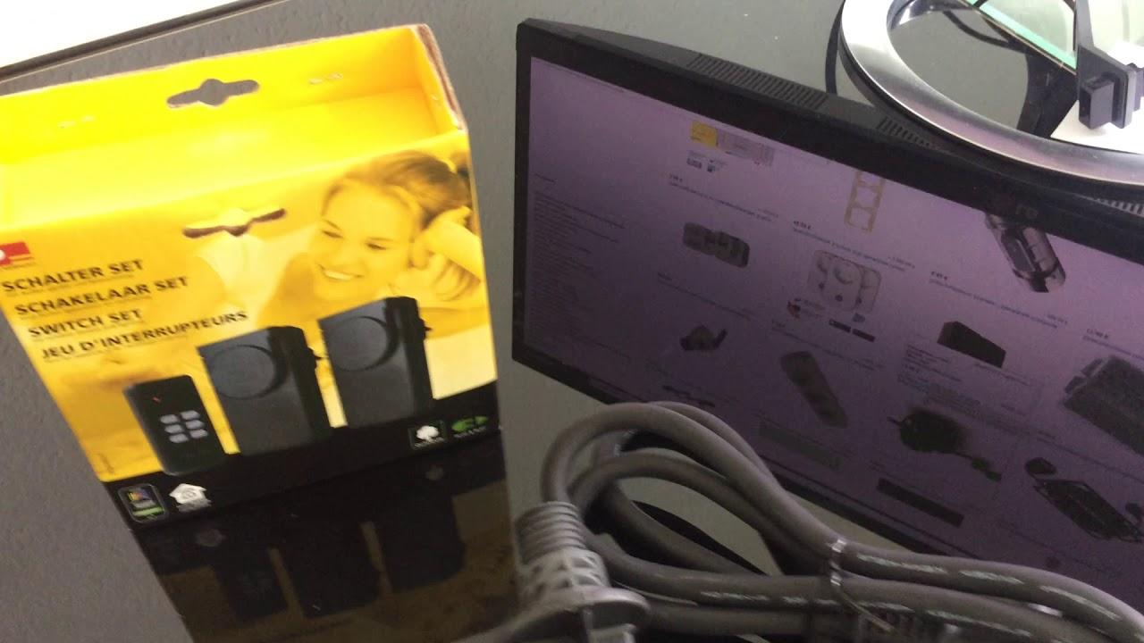 Einbausteckdose mit Deckel Schuko Anbausteckdose IP 44 Außen Steckdose BLAU