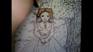 Speed-Drawing Part 2: Estella Havisham