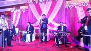 Instrumental Orchestra band in delhi Saxophone For Wedding 09891506676
