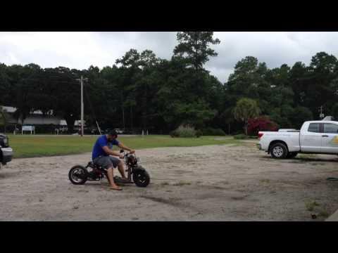 First Ride Honda Ruckus 180cc GY6 Swap