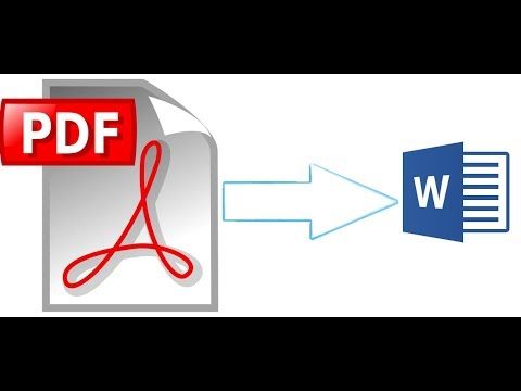 How To Convert PDF To Word Without Software