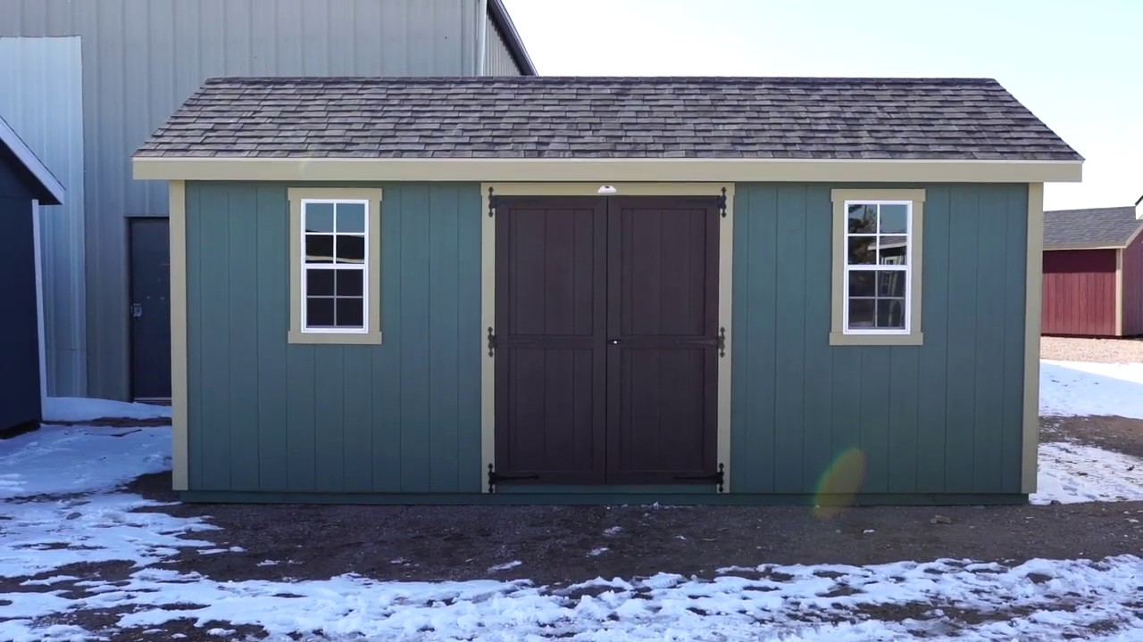 The Shed Yard - 10x20 Classic A Frame Shed