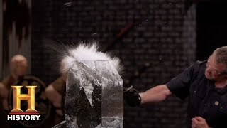 Forged in Fire: Arming Sword Strength Test (Season 5) | History