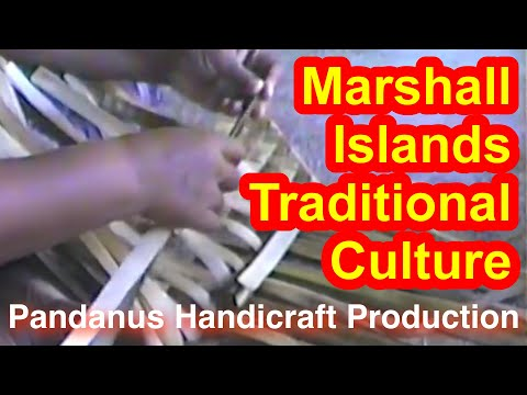 Marshallese Pandanus Handicraft Production