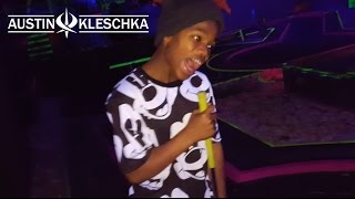 COSMIC MINI GOLF | Kleschka Vlogs