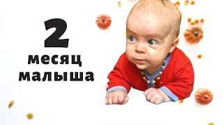 2 месяц развития малыша / Занятия и развлечения с ребенком / Второй месяц младенца в одном видео