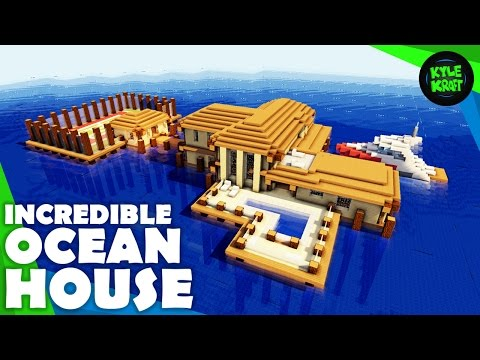Minecraft Ocean House | Building Timelapse