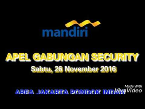 Aksi Keren Security Bank Mandiri area Jakarta Pondok Indah
