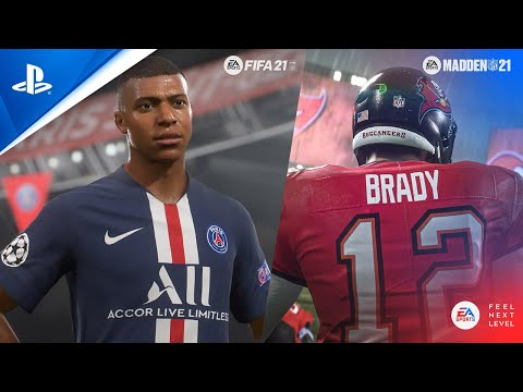 Feel Next Level in FIFA 21 and Madden 21 | PS5