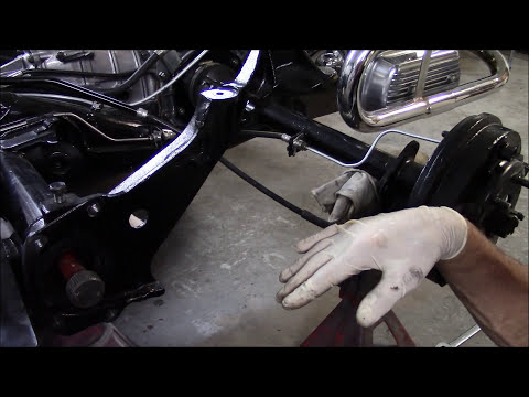 HOW TO ADJUST VW SWING AXLE SPRING PLATES - YouTube