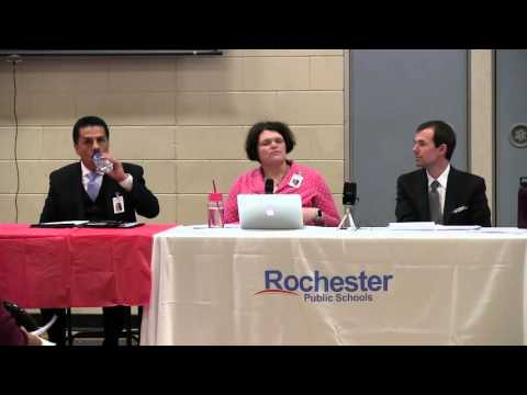Meeting addressing OCR report, Rochester Public Schools, January 7, 2016