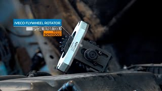 JALTEST TOOLS | How to use an IVECO Flywheel rotator (50105002)