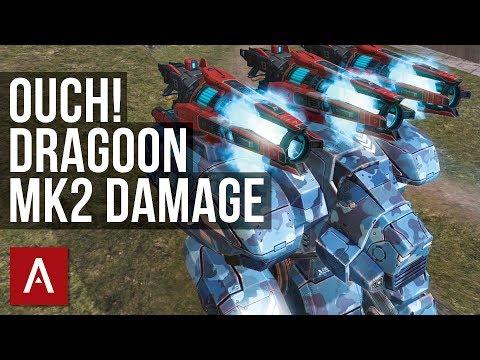 War Robots: FURY DRAGOON MK2 GAMEPLAY