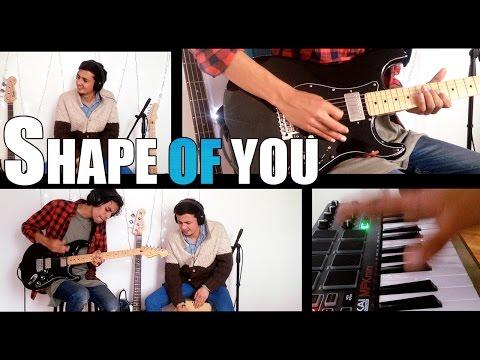 Shape Of You - Ed Sheeran (Guitar Cover) David Reed & Jason R.