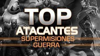 TOP Atacantes (Guerra y Supermisiones) | Marvel Contest of Champions