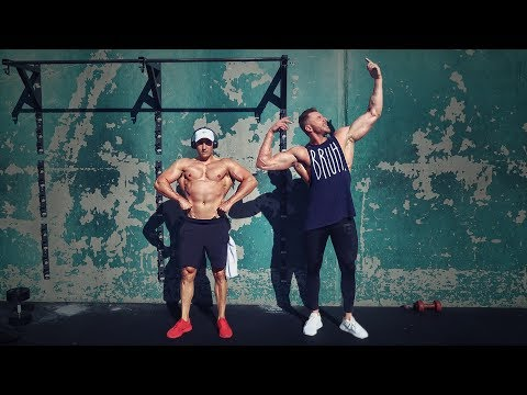 We Took Gold's Gym Venice by Storm (Back & Biceps, bruh) | #GainSZN Ep. 20
