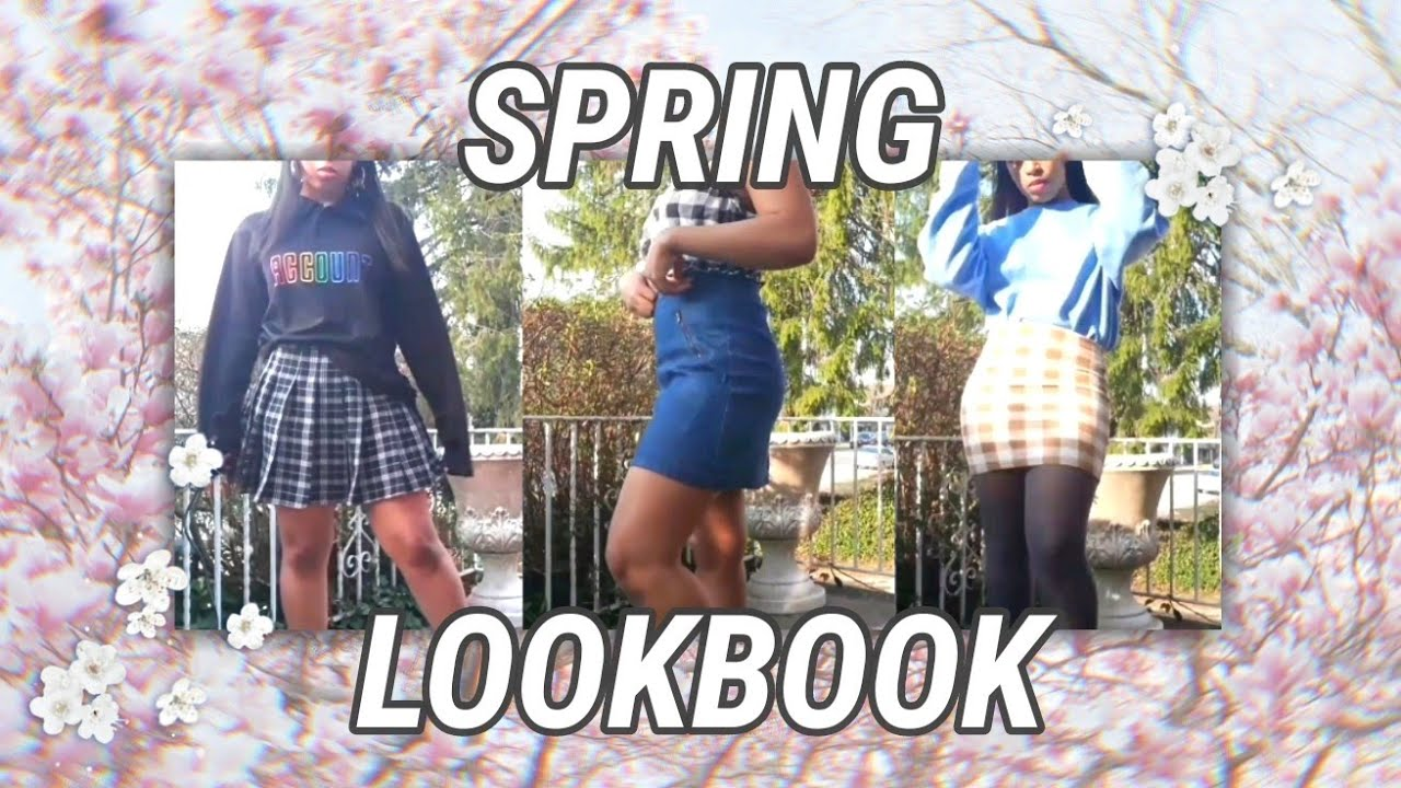SPRING LOOKBOOK | OUTFIT IDEAS 2019 || llanimay 7