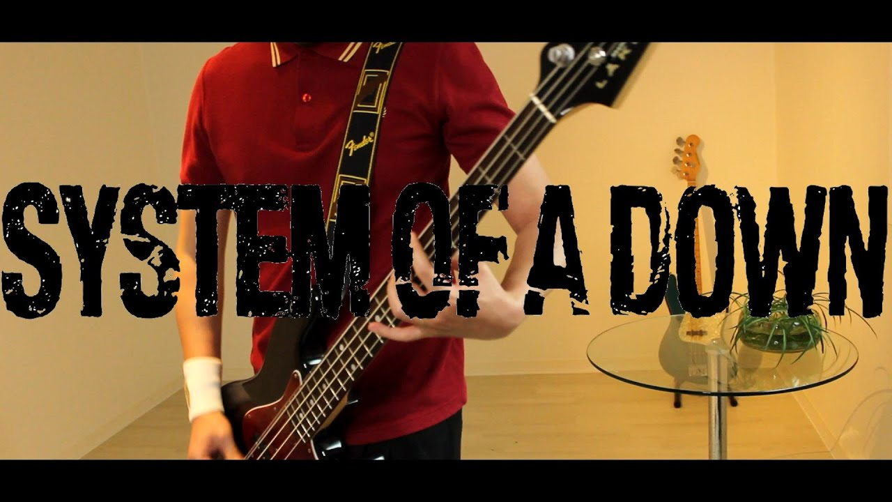 SYSTEM OF A DOWN - CHOP SUEY / BASS COVER / LAKLAND SK-460