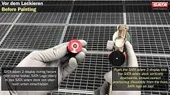 SATA adam 2 - Richtiger Umgang / Correct handling