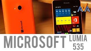 Смартфон Microsoft Lumia 535 обзор от AVA.ua(Видео #обзор - #смартфон #Microsoft #Lumia535 от от http://ava.ua/. Сравнить цены: http://ava.ua/product/798179/Microsoft-Lumia-535/ . В этот раз..., 2015-03-02T08:27:09.000Z)
