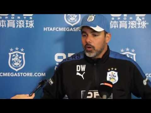 WATCH: David Wagner previews Town's Carabao Cup match