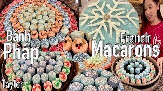 Các Kiểu Bánh Pháp Macarons tuyệt đẹp cho mùa Noel - French Marcarons - Taylor Recipes