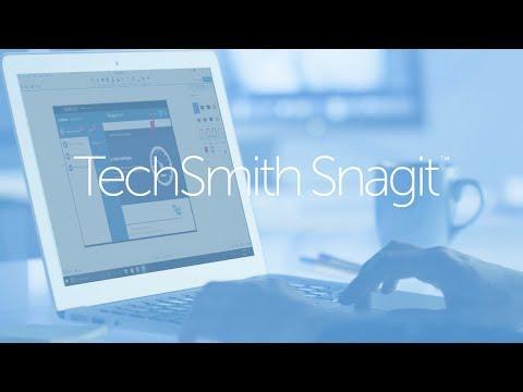 Giới thiệu TechSmith Snagit 2018