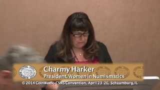 Women in Numismatics Meeting, CSNS April 25, 2014. VIDEO: 7:19.
