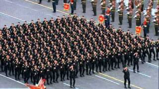 Парад Победы 2011(торжественный марш) 1/2 Victory Parade 2011
