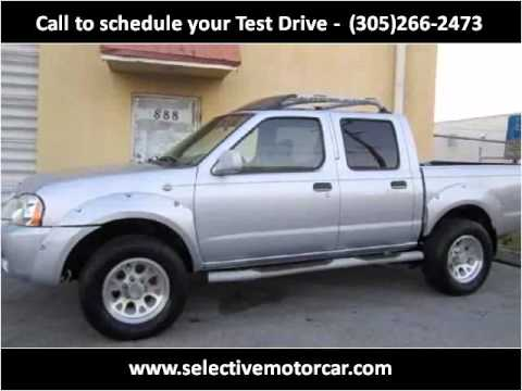 2001 nissan frontier used cars miami fl youtube for Selective motor cars miami