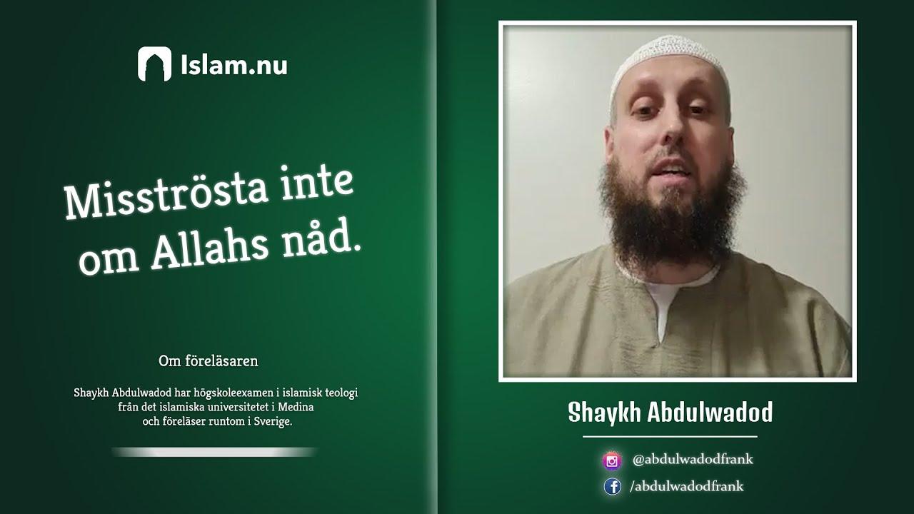 Koranreflektion #1 | Misströsta inte om Allahs nåd