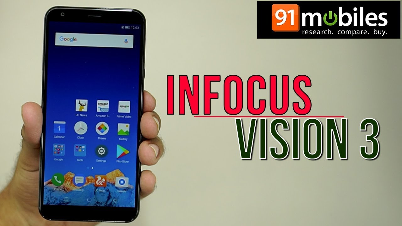 cheaper ed9a1 2ceb9 Infocus Vision 3: Unboxing | Hands on | Price Rs 6999 [Hindi-हिन्दी]