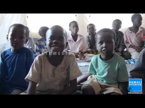 Primary School in Mogadishu's Refugee camp