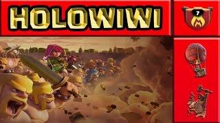 A LENDA do HoLoWiWi | MELHOR ATAQUE DE TODOS OS TEMPOS DO CLASH OF CLANS ??