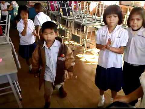 เด็ก เด็กป.1/1 เต้นเพลงคุณชายตำระเบิด