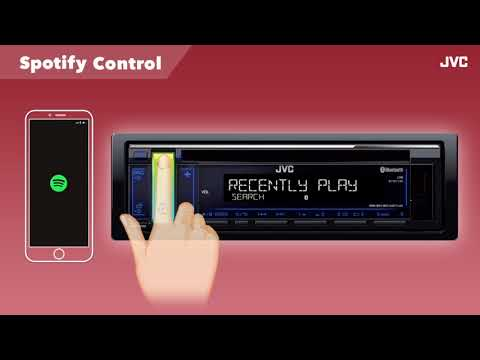 JVC Spotify Control Audio Mp3