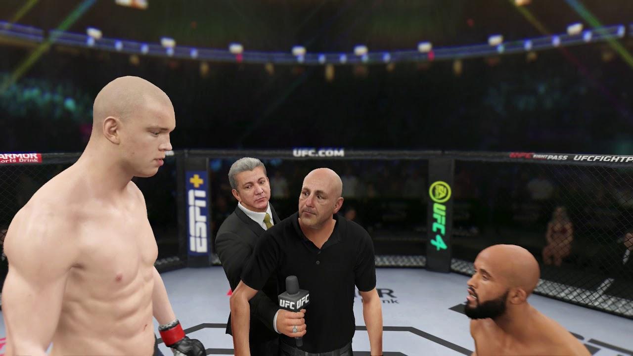 Download Stefan Struve vs Demetrious Johnson Full Fight - UFC 4 Simulation