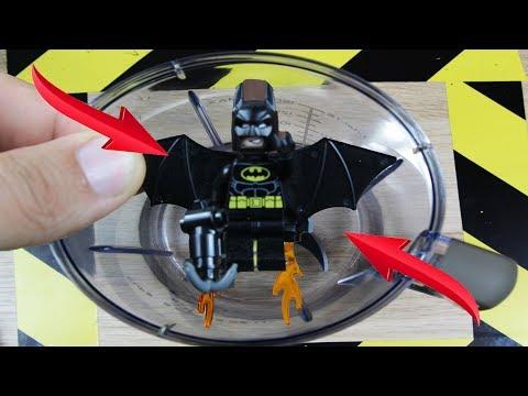Experiment Blender Vs Lego Batman | The Crusher