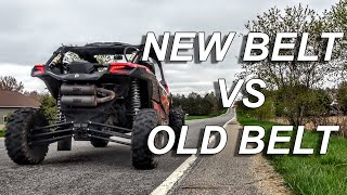 Could your CVT Belt be slowing your SXS down?