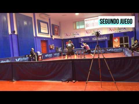 """Carlos Machado - He Zhi Wen """"Juanito"""". Tenis de Mesa España/ Table Tennis Spain"""