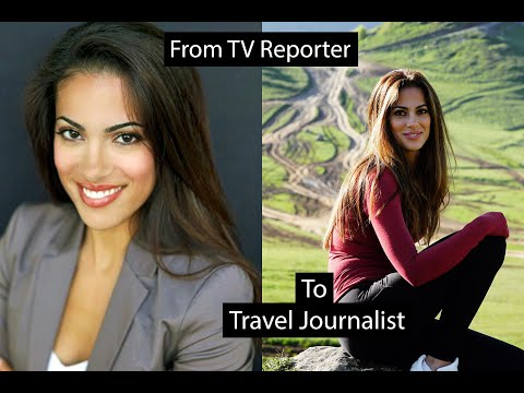 How I Became A Professional Travel Journalist! Full Story, With Clips Of Past TV Jobs.