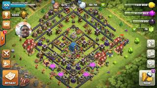 Clash of Clans Easy attack for 3 star Dragons Lair-Defeated 2018-11-06-11 by Dipankor-ctg