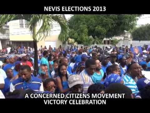 NEVIS ISLAND ASSEMBLY ELECTIONS_2013_CCM CELEBRATIONS
