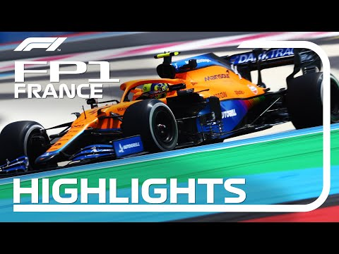 FP1 Highlights   2021 French Grand Prix