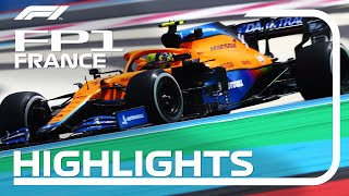 FP1 Highlights | 2021 French Grand Prix