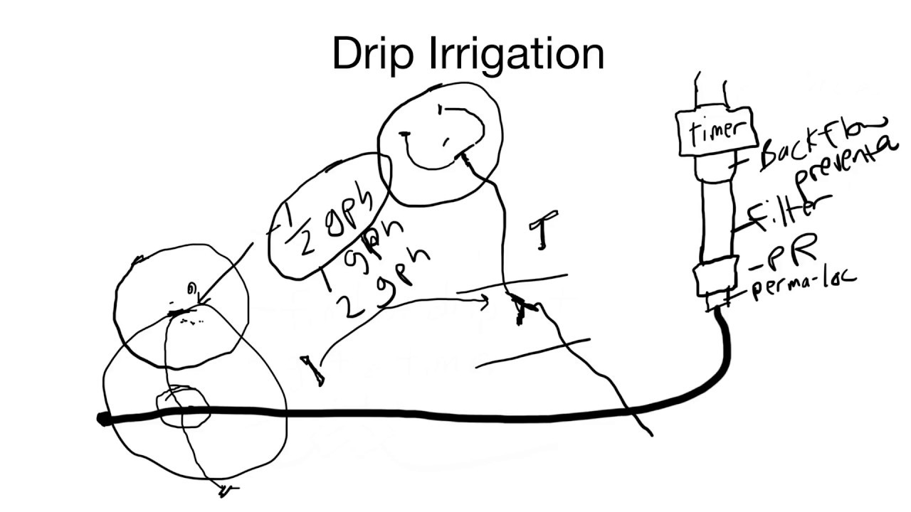how install a drip irrigation system - part 1