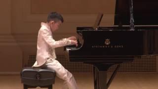 张睿宏Ray Zhang在卡内基斯特恩主厅表《肖邦夜曲》