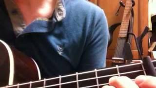 松田聖子の赤い靴のバレリーナをギターで弾いてみた.