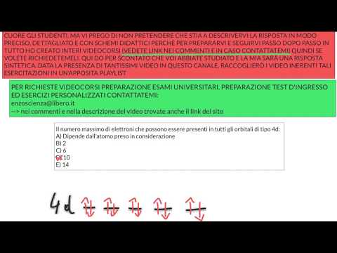 ESERCIZI TEST D'INGRESSO PROFESSIONI SANITARIE - 8 from YouTube · Duration:  15 minutes 29 seconds