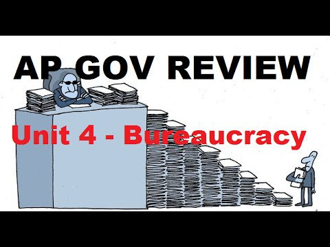 AP Gov Review: Cabinets, Independent Regulatory Agencies - Unit 4 - Bureaucracy - Part 2